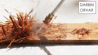 Pressure Washer vs Wood