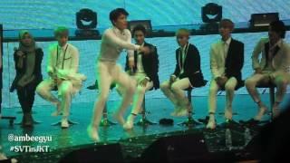 160820 SEVENTEEN in JKT - Dino Dancing Gangnam Style