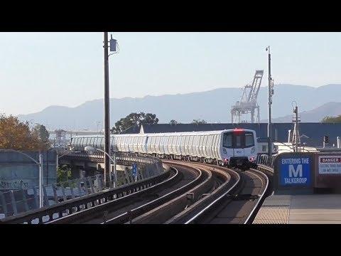 BART's Fleet Of The Future: Dublin/Pleasanton - West Oakland
