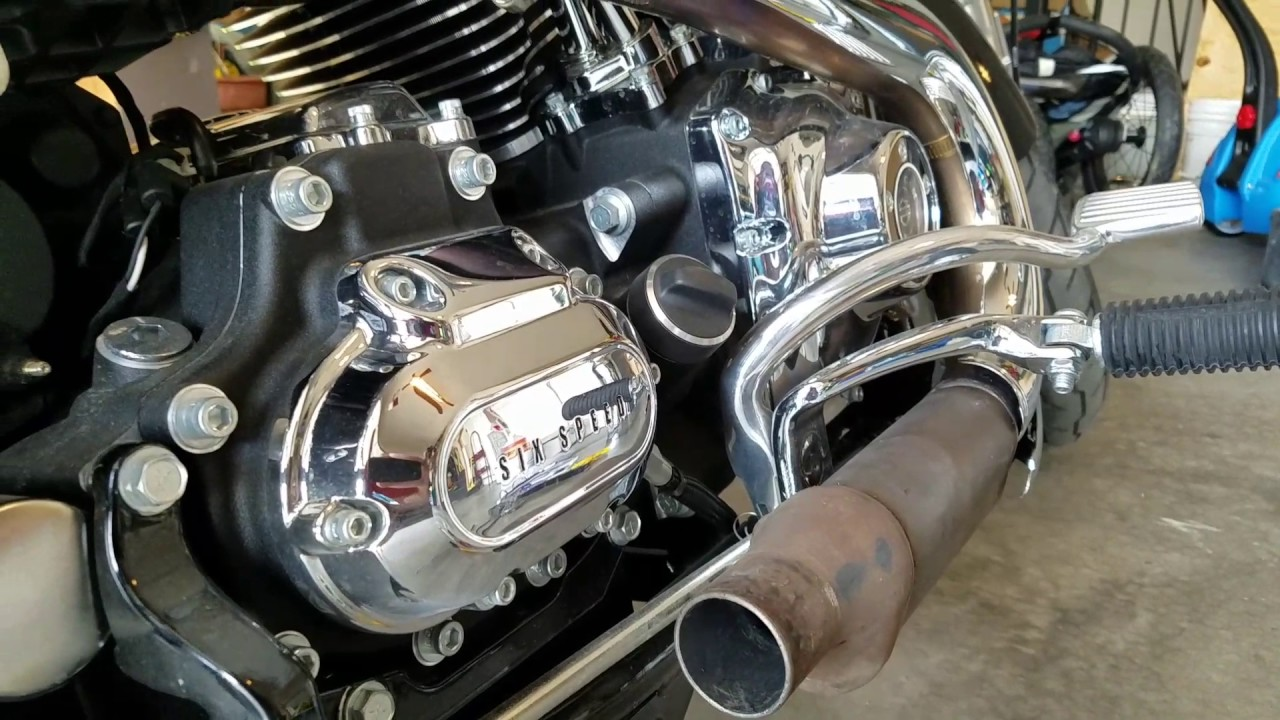How to remove catalytic converter on a motorcycle - YouTube
