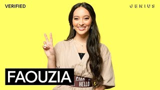 "Faouzia ""Tears Of Gold"" Official Lyrics & Meaning 
