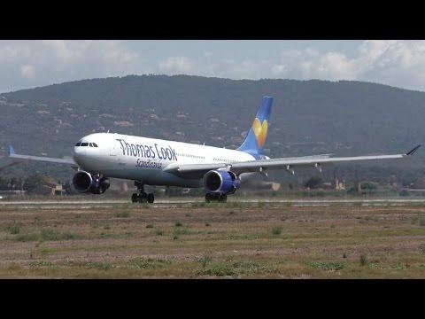 12 landings in 8 minutes arrivals at palma de mallorca airport hd youtube. Black Bedroom Furniture Sets. Home Design Ideas