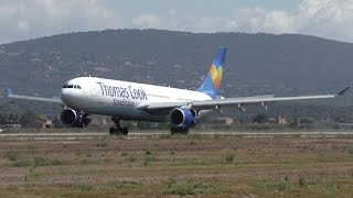 12 LANDINGS IN 8 MINUTES! Arrivals at Palma de Mallorca Airport [HD]