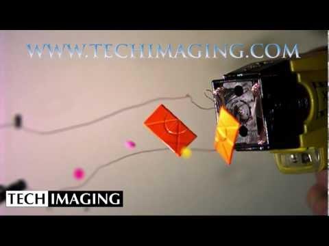 High Speed Camera Video - Taser