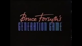 Bruce Forsyth's Generation Game (1991)