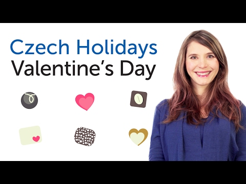 Learn Czech Holidays - Valentine's Day