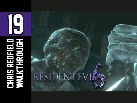 resident evil 6 chris final boss running