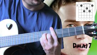 Olly Murs - Hand on Heart ( guitar chords lesson tutorial )