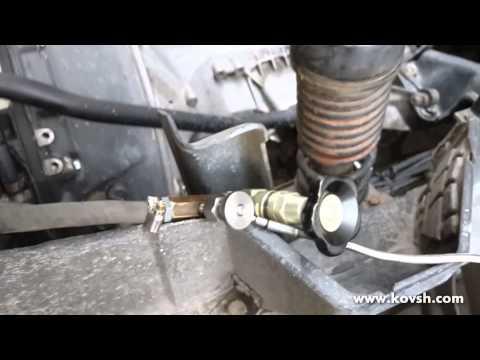 Проверка герметичности воздушного компрессора на Mercedes Atego