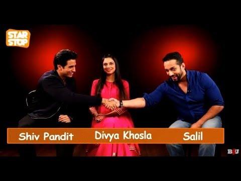 Divya Khosla and Shiv Pandit on Star Stop | Full Interview | B4U Entertainment