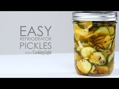 How to Make Easy Refrigerator Pickles