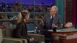 IRT Lisa Kelly on David Letterman show.27.10.10.avi