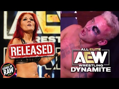 Ivelisse Released From AEW | Darby Allin vs. Matt Hardy Falls Count Anywhere! AEW Dynamite Review