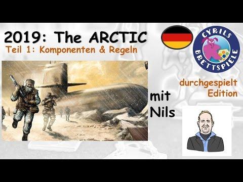 Cyrils Brettspiele - 2019:The ARCTIC Brettspiel (S45E01) - Komponenten & Regeln