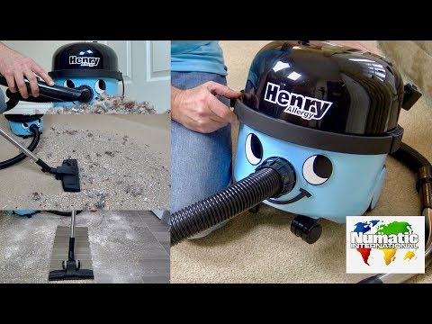 Numatic Henry Allergy  Vacuum Cleaner Unboxing & Demonstration