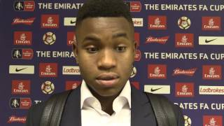 REACTION | Ademola Lookman delighted with his FA Cup debut