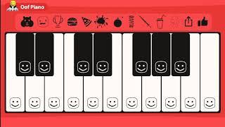 ROBLOX Oof Piano - Twinkle Twinkle Little Star