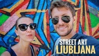Alternative Ljubljana: graffiti tour