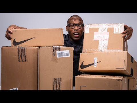 UNBOXING A TON Of SNEAKERS x F+F Adidas Collab with Pharrell