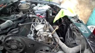 Remplacement et mise au point chaîne courroie VW - تبديل حزام المحرك