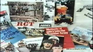 British Army Recruiting Film Early 70