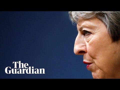 Theresa May makes coded attack on Boris Johnson in final speech