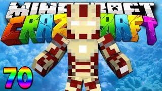 """Minecraft Mods Crazy Craft 2.0 """"Original Iron Man!"""" Modded Survival #70 w/Lachlan"""