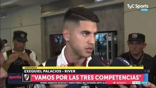 Exequiel Palacios y los objetivos de River: