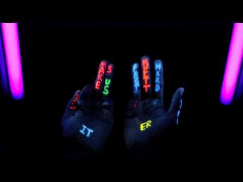 Black Light Daft Hands  Harder, Better, Faster, Stronger