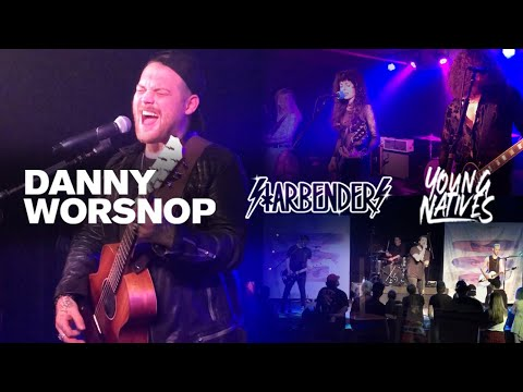 Danny Worsnop, Starbenders & Young Natives (HD - 2020) Live Music Vlog #9