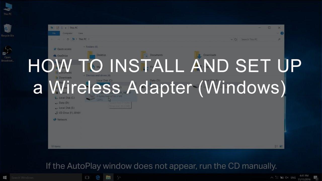 Adapter laptop wireless network interface controller usb ieee.