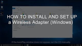 How to Install and Set Up a Wireless Adapter (Windows)
