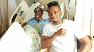 DIAMOND Ampeleka BABA YAKE hospital!, Hali Yake Ni Mbaya