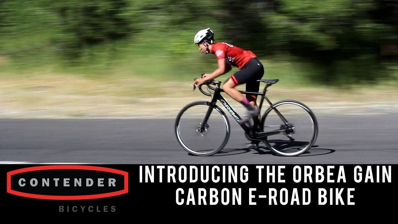 4f4787de90a Introducing the 2019 Orbea Gain Carbon E-Road Bike - YouTube