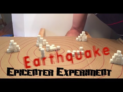 Earthquake Epicenter Experiment