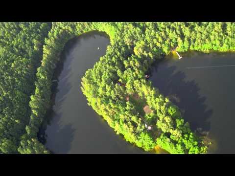 Jezioro Dobre .Krokowa Kaszuby Pomorskie .