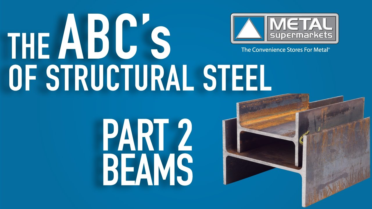 ABCs of Structural Steel - Part 2: Beam   Metal Supermarkets
