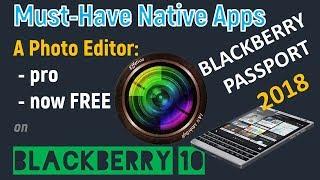 Download lagu BlackBerry 10 2018 | Best photo editing native app - Effetica Pro