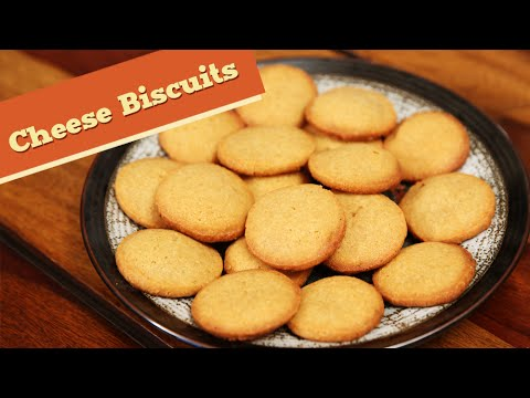 Cheese Biscuits | Savoury Snack Recipe | Divine Taste With Anushruti