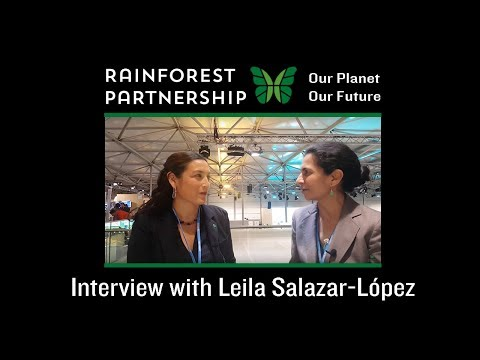 Our Planet. Our Future. - Interview with Leila Salazar-López