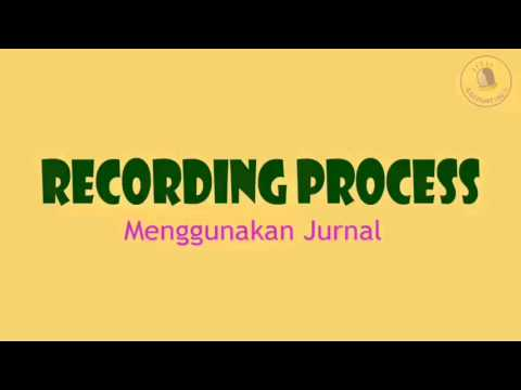 Accounting Process part 3 (Recording with Journal)