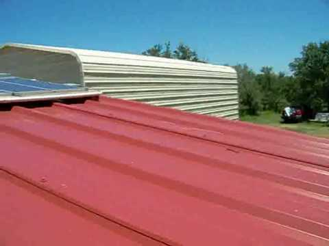 How To Install Harbor Freight Solar Panels Part 4