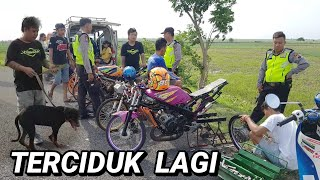 Terciduk lagi sama pak polisi pas setting dragbike _ prepare dragbike purbalingga MP3