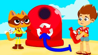 NEW! Learn to recycle with Superzoo team   Educational video