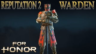 vuclip [For Honor] Reputation 2 Warden Gameplay