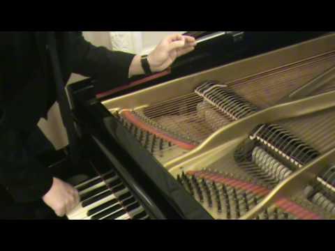 Как устроен рояль