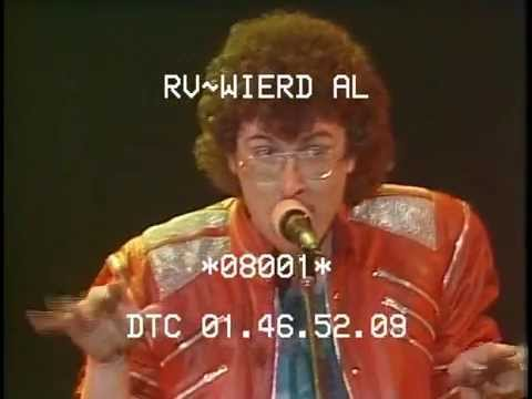 """Weird Al"" Yankovic - Eat It - live at The Rock Palace, 3-17-1984"