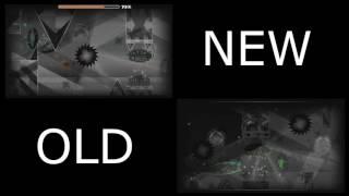 Old Black Blizzard Vs New Black Blizzard - Comparacion - Geometry Dash 2.1