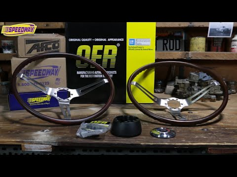 Speedway Tech Talk - 60\u0027s GM Wood Steering Wheels - YouTube