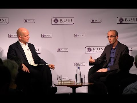 Yuval Noah Harari in conversation with RUSI Chairman, Lord Hague of Richmond